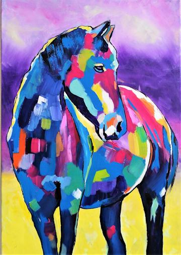 Dietmar Mezger: Pferd