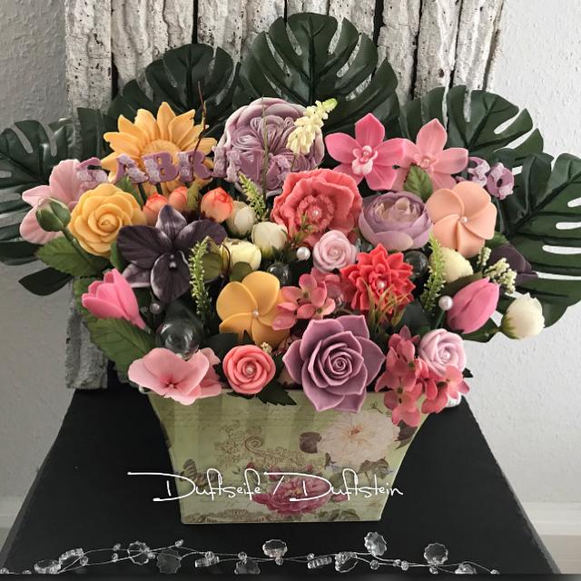 Hatice Bayik: Seifenblumenstrauß
