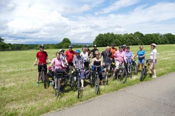 die Radlgruppe auf Tour